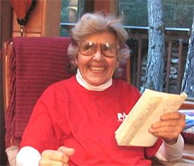 "Sally Miller Gearhart reading from ""Wonderland"""